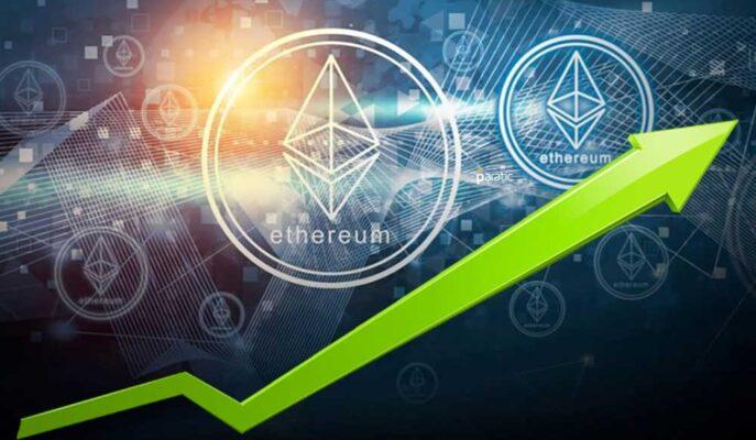 Ethereum Aktif Adresleri Fiyat 3 Bin Dolar Üzerindeyken Artıyor