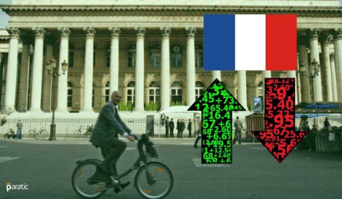 Fransız Ekonomik Büyümesi %1,1'e Artırılırken Borsa Yükseliyor