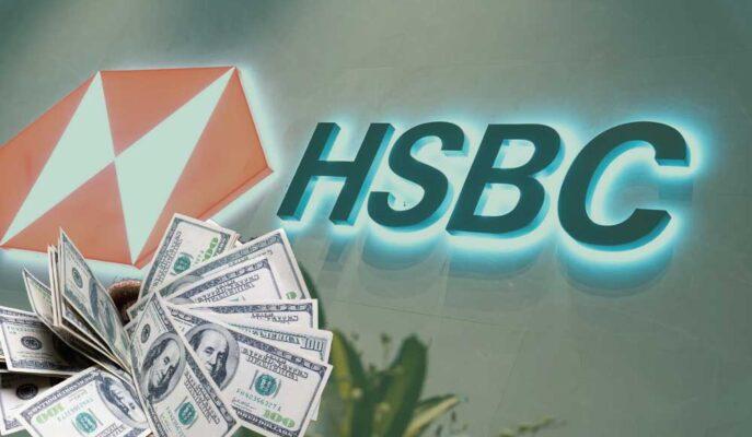 HSBC'nin İlk Yarı Kârı İki Katından Fazla Artarken Hisseler Artıda