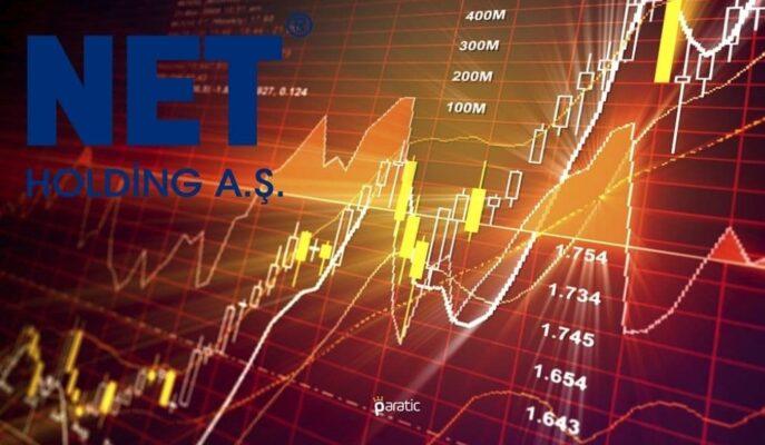 Net Holding Hisseleri Günün İlk Yarısında %8'den Fazla Yükseldi