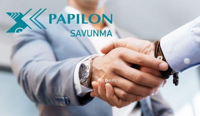 Papilon Savunma 1 Milyon TL'lik İş Sözleşmesi İmzaladı