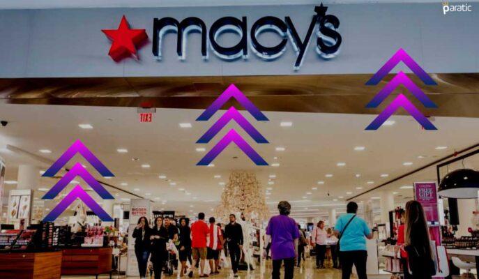 Perakendeci Macy's Güçlü Kazanç Açıklarken Hisseler %14 Yükseldi
