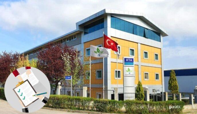 RTA Laboratuvarları Gayrimenkul Satış Vaadi Sözleşmesi Yaptı