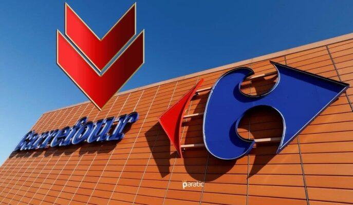 Sermaye Artırımı için Çalışmalara Başlayan CarrefourSA Hisseleri Sert Düşüşle Açıldı