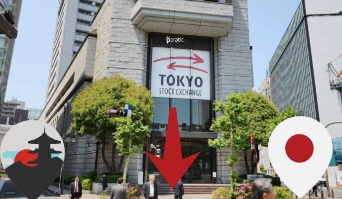TÜFE Rakamlarının İzlendiği Japonya'da Borsalar Ekside Seyrediyor