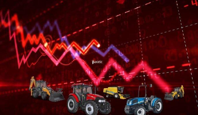 İlk Yarıda Üretim Rekoru Kıran Türk Traktör Hisseleri Sert Düşüşte