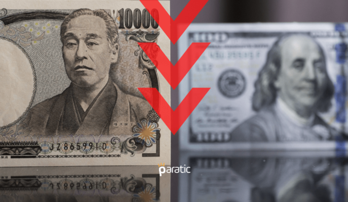 USD/JPY Üst Üste Dördüncü Seansında Düşüş Baskısını Koruyor