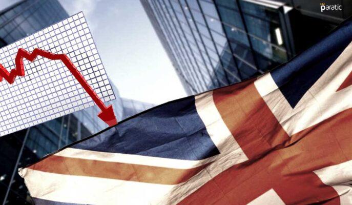 1,5 Ayın Zayıf Seviyelerindeki İngiliz Borsa Endeksi Negatife Döndü