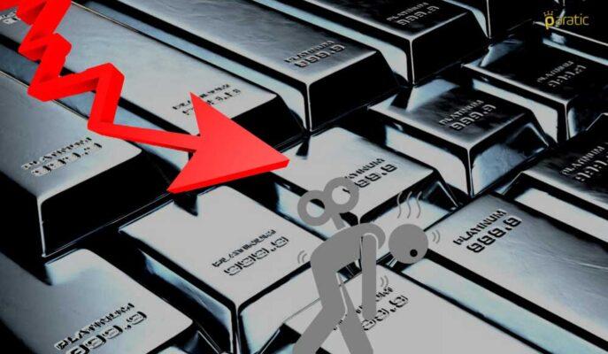 919 Doları Gören Platinin Haftalık Kaybı %5'e Ulaştı