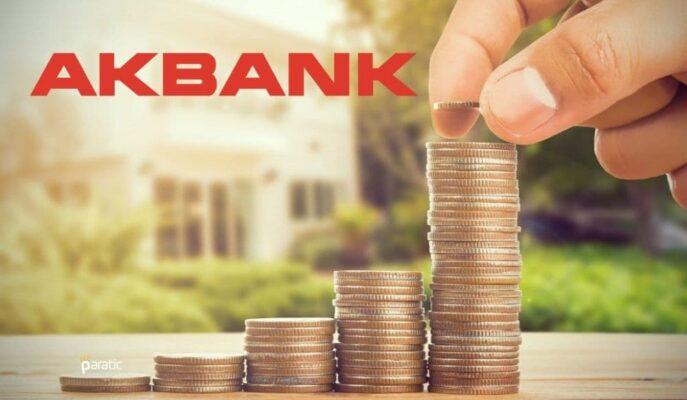 Akbank 707,5 Milyon TL'lik Finansman Bonosunun 1. Kupon Ödemesini Yaptı