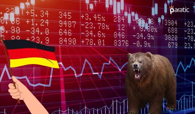Almanya'da Üretici Maliyetleri 47 Yılın Yükseğine Çıkarken Borsa Sert Düştü