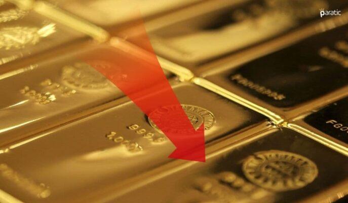 Altın, FED'in Varlık Alım Azaltılmasına Yönelik İşaretleriyle Geriledi