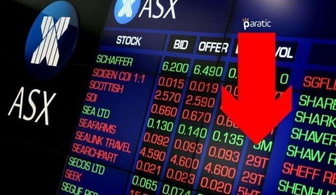 Asya Borsaları Geriledi, En Çok Kayıp Avustralya'da Yaşandı