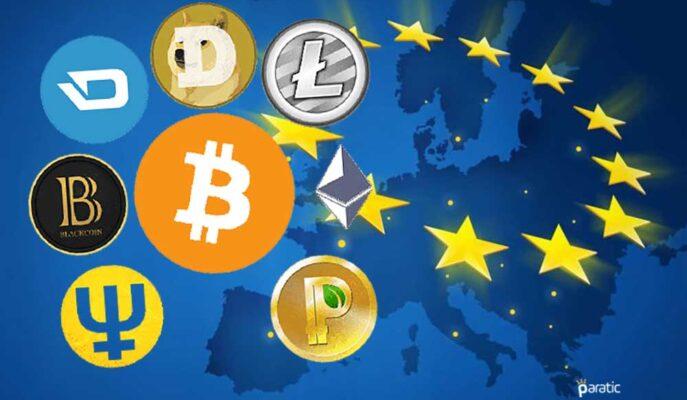 Avrupa Bölgesi 1 Trilyon Dolar Kripto Para İşlem Hacmine Ulaştı