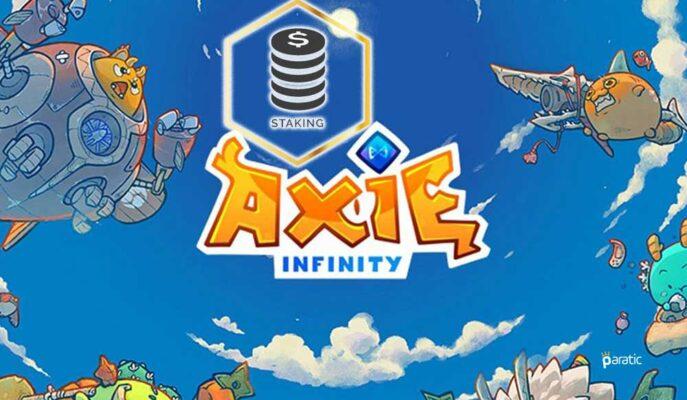 NFT Oyunu Axie Infinity, AXS Stake Programı Başlattı