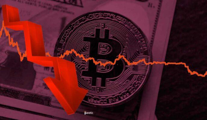 Bitcoin Sert Düşüşünü Sürdürdü ve 40 Bin Dolar Seviyesini Test Etti