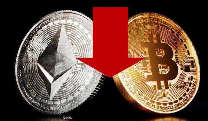 Bitcoin 46 Bin Dolar Altında Konsolide Olurken Ethereum Düşüşünü Uzattı