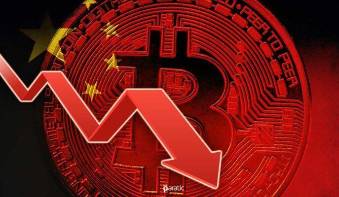 Bitcoin Çin'den Gelen Açıklamalara Sert Tepki Verdi ve 41 Bin Dolara Geriledi