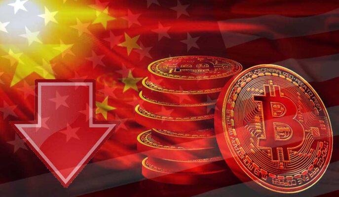 Bitcoin Küresel Piyasaların Etkisiyle 45 Bin Dolara Kadar Geriledi