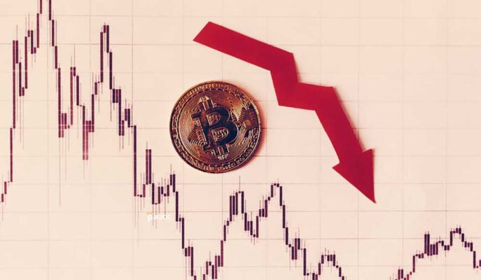 Bitcoin'in Piyasa Değeri Son Düşüş Dalgası ile 800 Milyar Doların Altına Geriledi