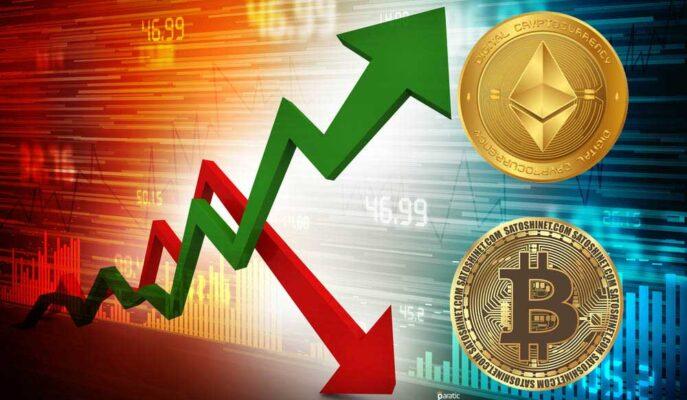 Bitcoin Yatay Seyrederken, Ethereum 3.500 Doların Üzerine Çıktı