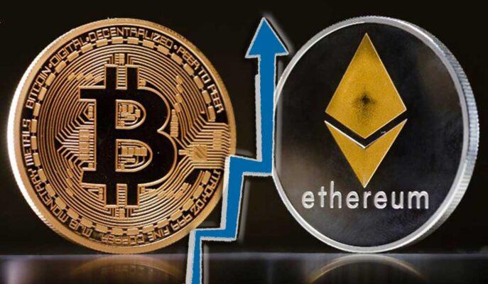 Bitcoin Yönünü 50 Bin Dolara Çevirirken, Ethereum Yükselişini Hızlandırıyor