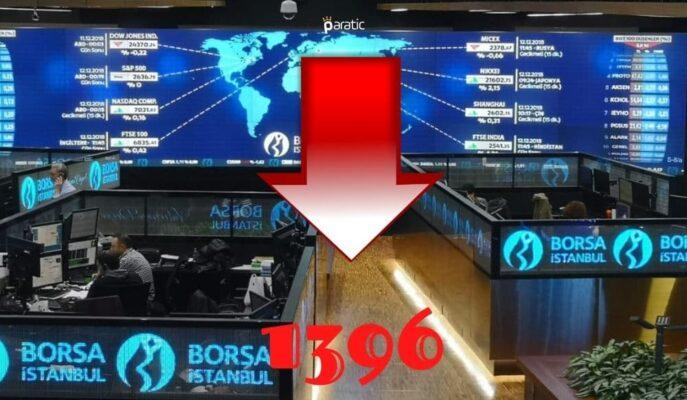 Borsa, Doların 8,72'yi Aşmasıyla Yaklaşık 2 Ayın Düşüğüne Geriledi