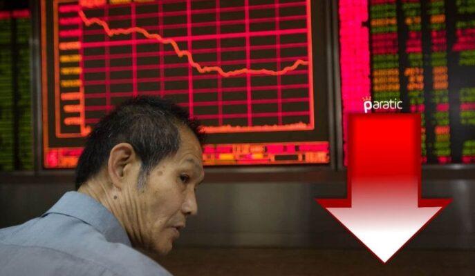 Çin'de Perakende Satışların Keskin Düşüşü Asya Borsalarını Etkiledi
