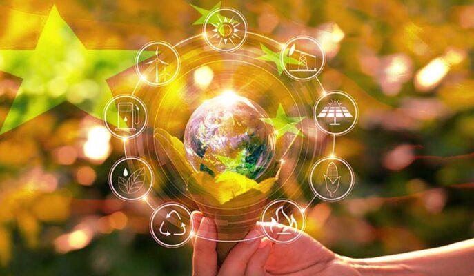 Çin Yeşil Enerji Ticareti için Blockchain'den Yararlanacak