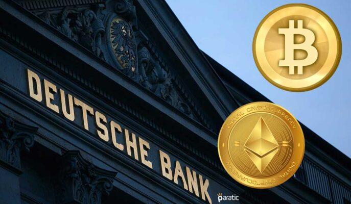 Deutsche Bank Analisti Bitcoin ve Ethereum'u Dijital Emtialara Benzetti