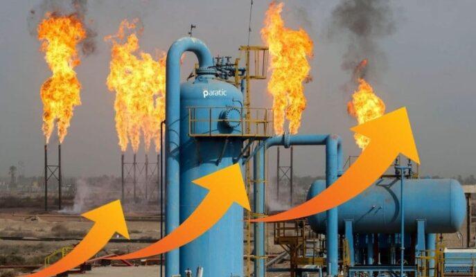 Doğal Gaz 6,31 $ ile Zirveyi Gördükten Sonra Hafif Geriledi
