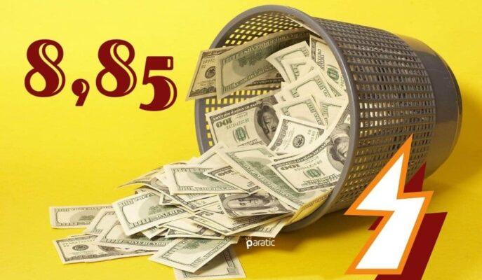 Dolar 8,85'i Aşarak Tarihinin En Yüksek Seviyesine Ulaştı