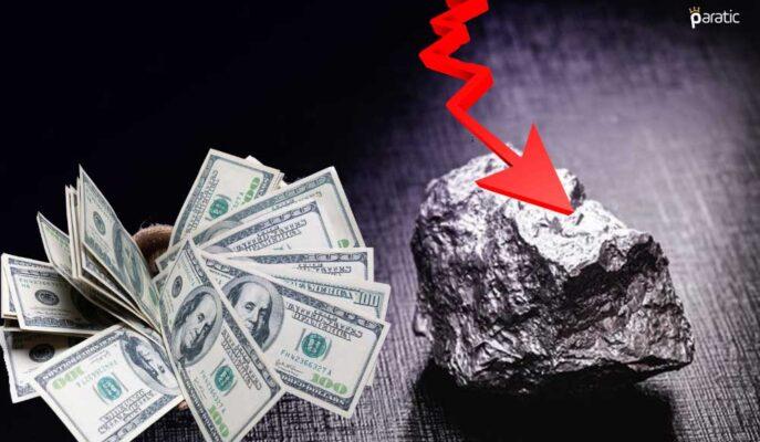 Düşüşü Sürdüren Paladyum Mayıs Rekorundan 1100 Dolar Uzakta İşlem Görüyor
