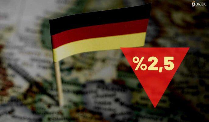 Ekonomik Büyüme Tahmini %2,5'e Düşürülen Almanya'da Borsa Artıda