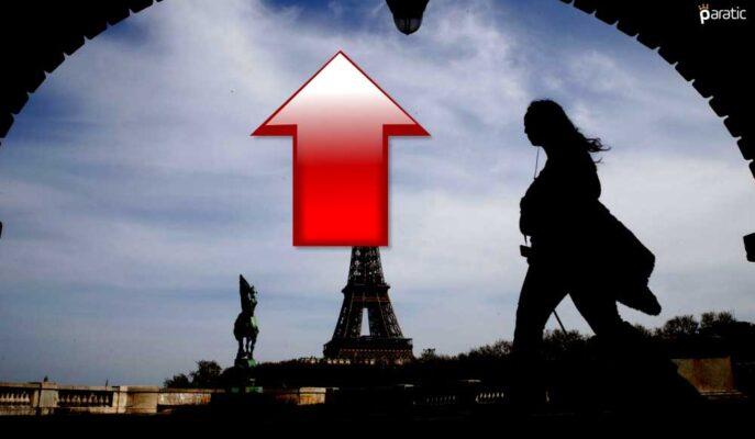 Enflasyonun 3 Yılın Yükseğine Ulaştığı Fransa'da Borsa Artıyor