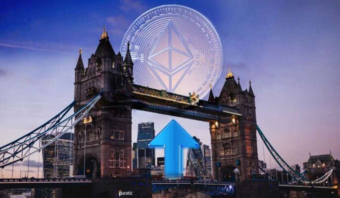 Ethereum Londra Yükseltmesi Sonrası 1 Milyar Doları Aşkın ETH Yakıldı