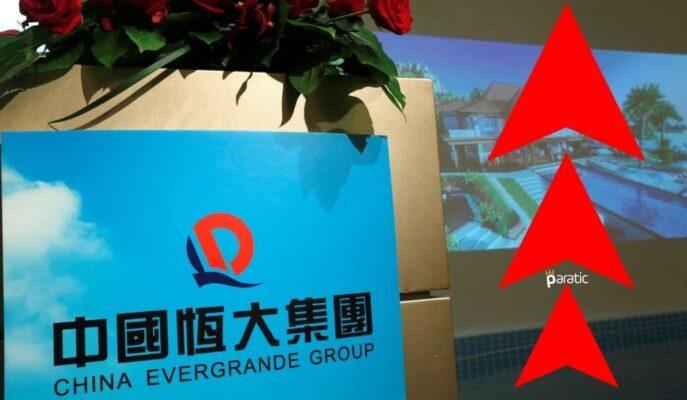 Evergrande Hisseleri Çözüm Odaklı Adım Sonrası %9 Arttı