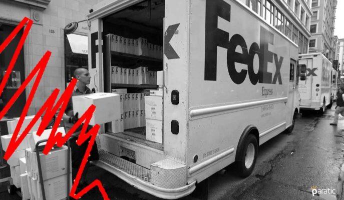 FedEx Hisseleri %8 Düşüşle 1 Yılın En Zayıf Değerine Geriledi
