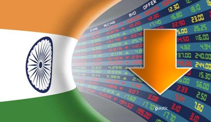 Hindistan Borsa Endekslerindeki Kayıplar %1'i Aştı