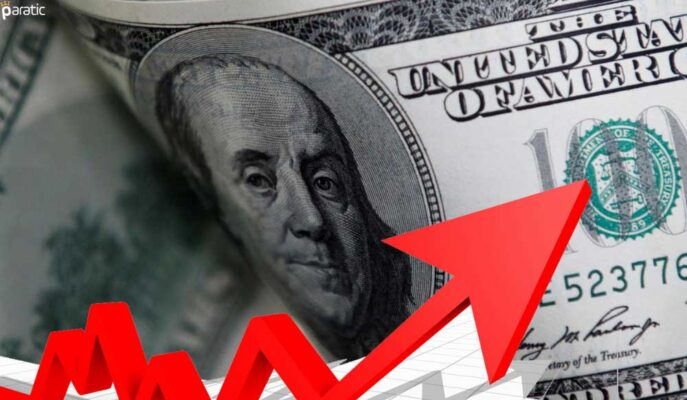 Hızlı Artan Enflasyon Sonrası Dolar Güçlü Yükseldi