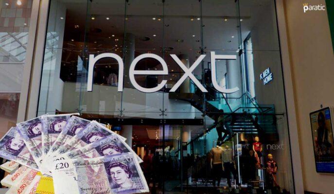 İngiliz FTSE 100'e En Yüksek Katkılardan Biri Next Hisselerinden Geldi