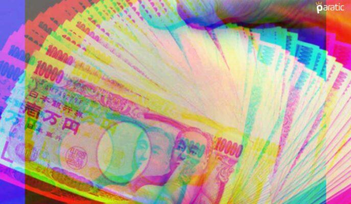 Japon Yeni Dolar Karşısında 1 Ayın Yüksek Seviyesinde
