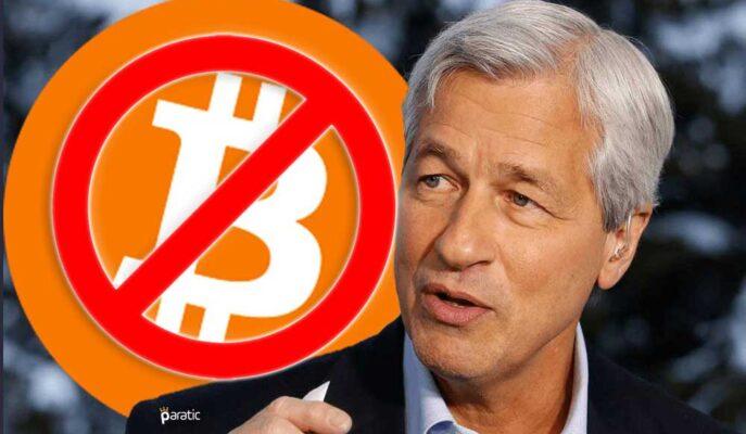 JPMorgan CEO'su Bitcoin Değerini 10'a Katlasa da Almayacağını Söyledi