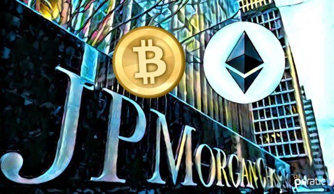 JPMorgan, Ethereum'daki Kurumsal Talebin Bitcoin'den Fazla Olduğunu Belirtti