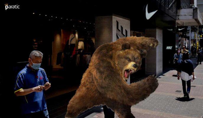 Nike Hisseleri Beklenti Üstü Kazanca Rağmen Açılış Öncesi Sert Düştü