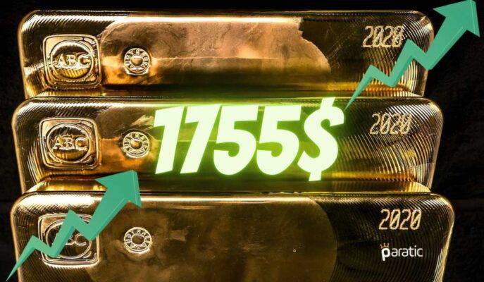 Ons Altın 1750 Doların Üstünde Tutunmayı Başarırken Pozitif İvme Sürüyor