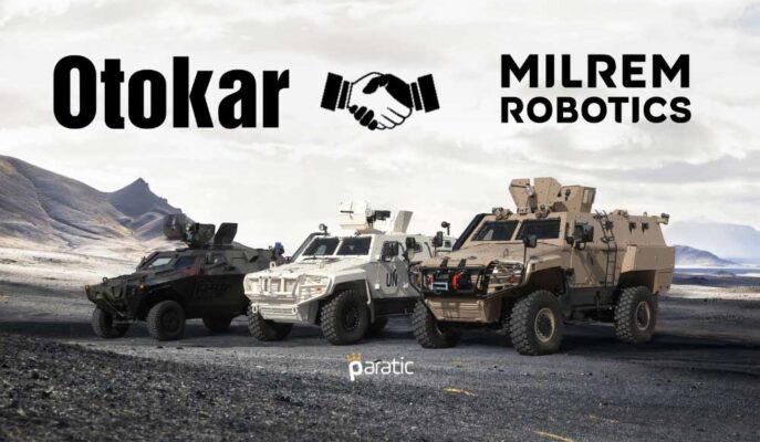 Otokar, Milrem Robotics ile Anlaşma İmzalarken, Hisseleri Pozitif Bölgede