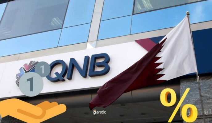 QNB Finansbank 514 Milyon TL'lik Bononun Kupon Oranını Belirledi