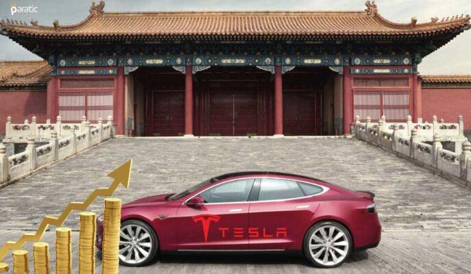 Tesla'nın Ağustos'ta %34 Artan Çin Satışları Hisseleri Yükseltti