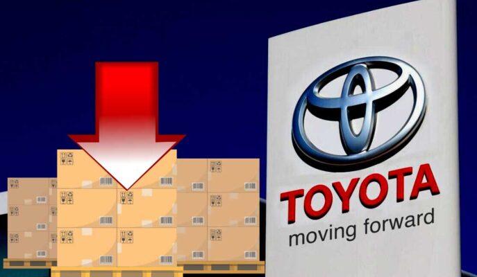 Toyota Üretim Tahminini Yine Düşürürken Hisseler Ekside Fiyatlanıyor